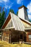Casa de madera Imágenes de archivo libres de regalías