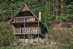 Casa de madera abandonada Fotografía de archivo