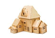 Casa de madera aislada Imágenes de archivo libres de regalías