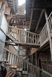 Casa de madera antigua en China Foto de archivo
