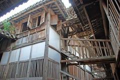 Casa de madera antigua en China Fotos de archivo libres de regalías