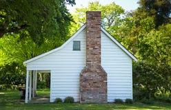 Casa de madera blanca, Nueva Zelanda Fotografía de archivo libre de regalías