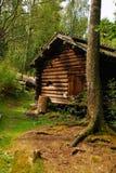 Casa de madera de Traditionnal Imágenes de archivo libres de regalías