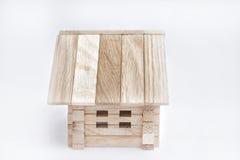Casa de madera del juguete Fotos de archivo libres de regalías