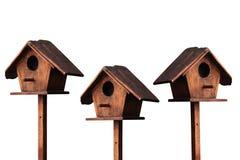 Casa de madera del pájaro foto de archivo libre de regalías