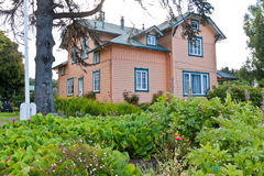 Casa de madera en Frutillar Chile Fotos de archivo