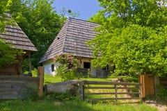 Casa de madera tradicional Fotos de archivo
