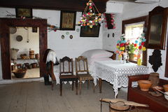 Casa de madera vieja Fotografía de archivo libre de regalías