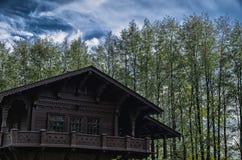 Casa de madera vieja Foto de archivo libre de regalías
