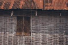 Casa de madera vieja fotos de archivo