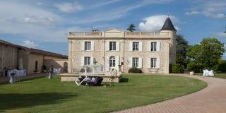 Casa de mansão velha em França imagem de stock royalty free