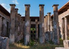 Casa de Marcus Epidius Rufus fotos de archivo libres de regalías