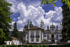 Casa de Mateus, Portugal. Baroque architecture of Casa de Mateus, Portugal royalty free stock photography