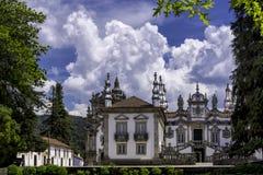Casa De Mateus, Portugalia fotografia royalty free