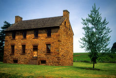 Casa de Matthews (casa de pedra) Imagens de Stock