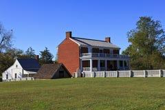 Casa de McLean en Appomattox Fotos de archivo