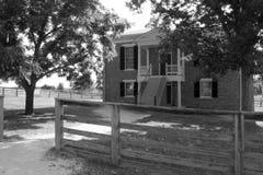 Casa de Mclean - parque histórico nacional do tribunal de Appomattox Imagens de Stock Royalty Free