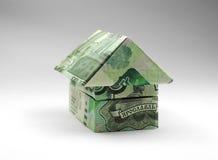 Casa de mil notas do rublo Imagem de Stock