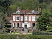 Casa de Missenden uma propriedade Georgian do s?culo XVIII e uma constru??o listada da categoria II foto de stock royalty free