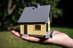 Casa de Modell disponível Foto de Stock