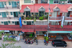 Casa de moradia asiática Fotos de Stock Royalty Free