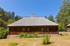 Casa de moradia cerca de 1862 no museu ao ar livre etnográfico de L Foto de Stock