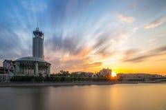 Casa de Moscovo da música fotografia de stock royalty free