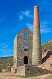 Casa de motor de Cornualles de la mina de lata Foto de archivo