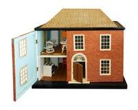 Casa de muñecas antigua Foto de archivo
