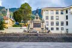 Casa de Narino, residencia presidencial oficial Imagenes de archivo