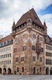 Casa de Nassau, Nuremberg, Alemanha Imagem de Stock