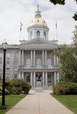 Casa de New Hampshire del estado en concordia fotos de archivo libres de regalías