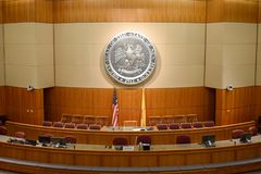 Casa de New mexico de representantes e de câmara de Senado imagem de stock royalty free