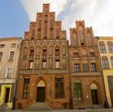 Casa de Nicholas Copernicus, Torun, Polonia Foto de archivo