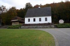 Casa de Nikola Tesla Croatia Smiljane Fotos de Stock Royalty Free