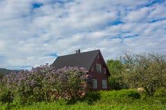 Casa de Noruega Fotografía de archivo