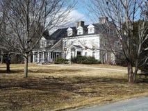 Casa de Nova Inglaterra Imagens de Stock