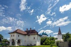 A casa de Oparin mercante em Gorokhovets Região de Vladimir Imagens de Stock