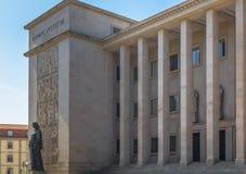 Casa de Oporto de la justicia Fotos de archivo libres de regalías