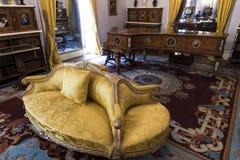 Casa de Osborne de la sala de estar Imagen de archivo