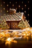 Casa de pão-de-espécie Imagens de Stock