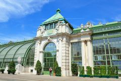 Casa de palma em Burggarten, Viena Imagens de Stock Royalty Free