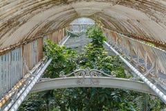 Casa de palma en los jardines de Kew, Londres imagen de archivo