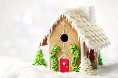 Casa de pan de jengibre Fotografía de archivo libre de regalías