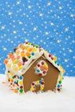 Casa de pan de jengibre Foto de archivo libre de regalías