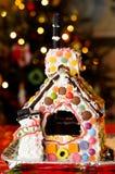 Casa de pan de jengibre Fotografía de archivo
