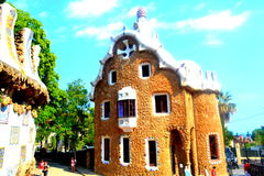 Casa de pan de jengibre España foto de archivo libre de regalías