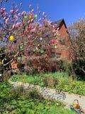 Casa de Pascua imagen de archivo libre de regalías