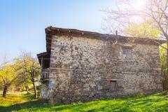 Casa de pedra Foto de Stock