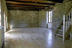 Casa de pedra renovada foto de stock